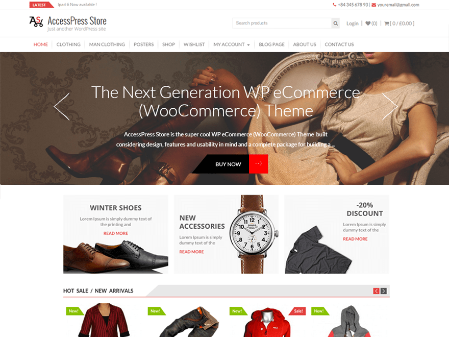 AccessPress Store Free WooCommerce Themes For WordPress