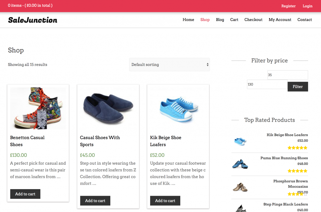 SalesJunction Free WooCommerce Themes For WordPress