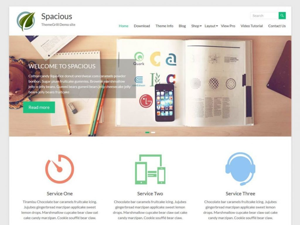 Spacious Free WooCommerce Themes For WordPress
