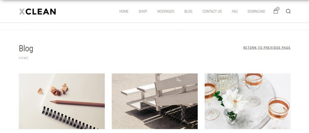 XClean Free WooCommerce Themes For WordPress
