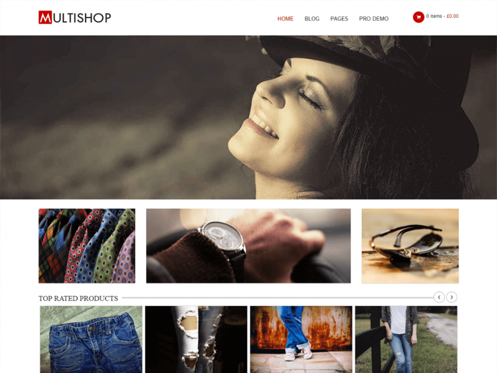 Multishp Free WooCommerce Themes For WordPress