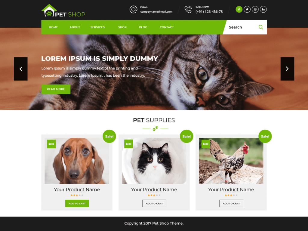 pet animal store