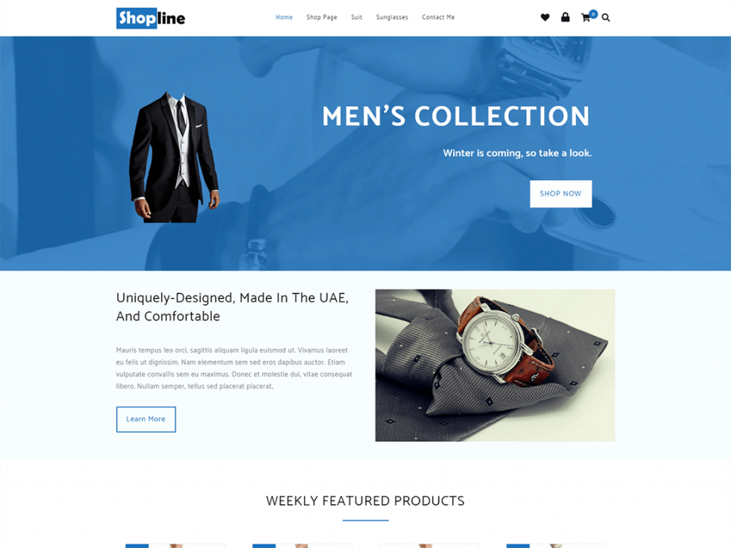 Shopline Free WooCommerce Themes For WordPress