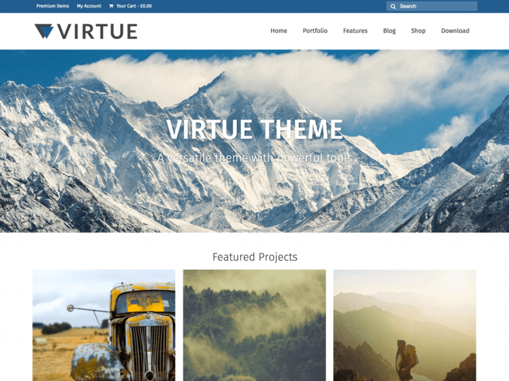 Virtue Free WooCommerce Themes For WordPress