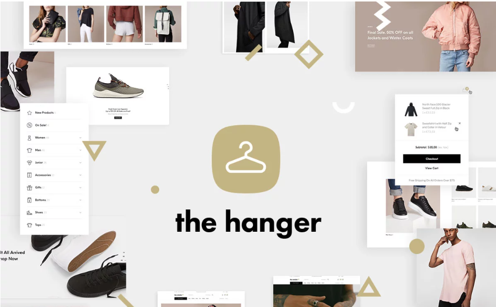 the hanger woocommerce
