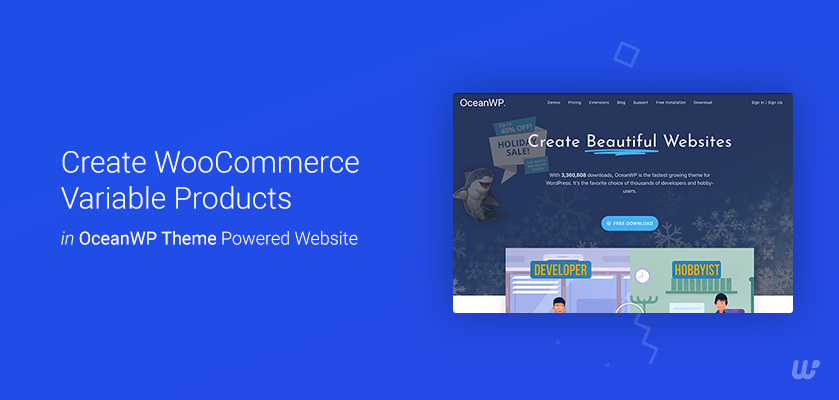variable product OceanWp